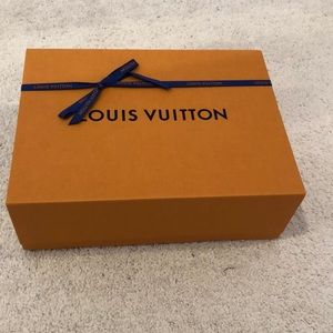 Authentic Louis Vuitton box with ribbon